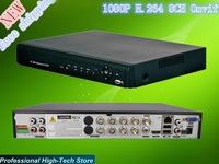Free shipping NEW H.264 dvr 8 channel security camera system 1080P HDMI 8CH onvif D1 network stand alone HD CCTV DVR recorder
