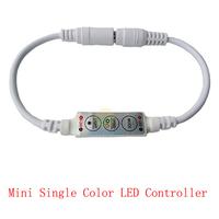 DC 12V 3 Keys dimmer for 3528 5050 LED Strip lights Mini led single color controller