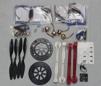 F05298-H JMT RC Quadcopter Drone ARF HJ600 Foldable Frame Kit + KK Flight Control Board + Motor + HOBBYWING ESC + Carbon Pros