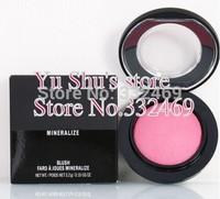 Free Shipping 2015 NEW 9colors Mineralize blush face blush mineralize 3.2g 2PCS / LOT