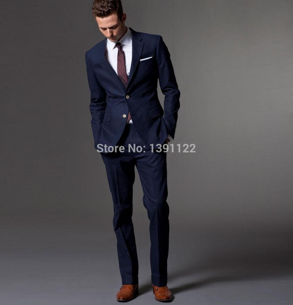 online kaufen gro handel blau mann anzug aus china blau. Black Bedroom Furniture Sets. Home Design Ideas