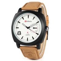 Men Curren Business Quartz watch Scrub  Leather Strap watches Fashion Free Shipping