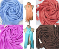 2015 NEW autumn and winter beautiful Solid color Unisex  scarf super Long artificial cashmere Candy color scarves