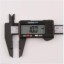 Practical Precision Hot 150mm Vernier Calipers Electronic Digital LCD Plastic Caliper Micrometer
