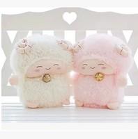 Free shipping Standing Doraemon sheep Doll Cartoon plush toys Pillow Birthday or Valentine's Day gift Gift for girls or children