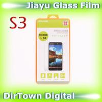 Original Smartphone Jiayu S3 Screen Protector Glass Film Fingerprint-proof Nano Film 2.5D Film AGC Toughened Glass