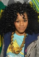 Teyana Taylor full hair style New  black 180density curly indian remy human hair lace front wig