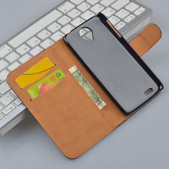 Чехол для для мобильных телефонов Oem lenovo S820 4 S820 Leather case tought screen lenovo s820