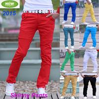 Size 27-34 Skinny Casual Men Pants 10 Colors Fashion Low Waist Slim Trousers Calcas Masculina Pantalones Hombre Men's Clothing