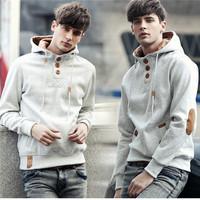 New Men Solid Hoodies Sweatshirt Casual hip hop Sportswear moleton Loose Pullover Warn Winter Coats Outwear Plus Size AY852857