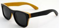 2015 Home Wooden sunglasses polarized real wood Lighting sun glasses  women brand designer channel 68041