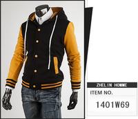 free shipping Men's clothing casual jacket stand collar outer Coat Men jacket denim jacket Men outerwear   50