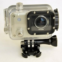 waterproof 1080p hd sport action video camera mini DV camera for car / surfing /diving / bicycle