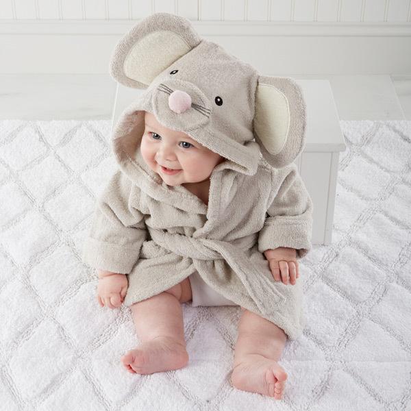 100% хлопок милый ребенок халат новорожденных мальчик в ...