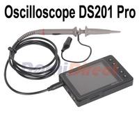 "2015 New arrivals portable oscilloscope DS201 PRO 2.8"" TFT LCD Screen DIY oscilloscope kit aluminium alloy case with MCX probe"