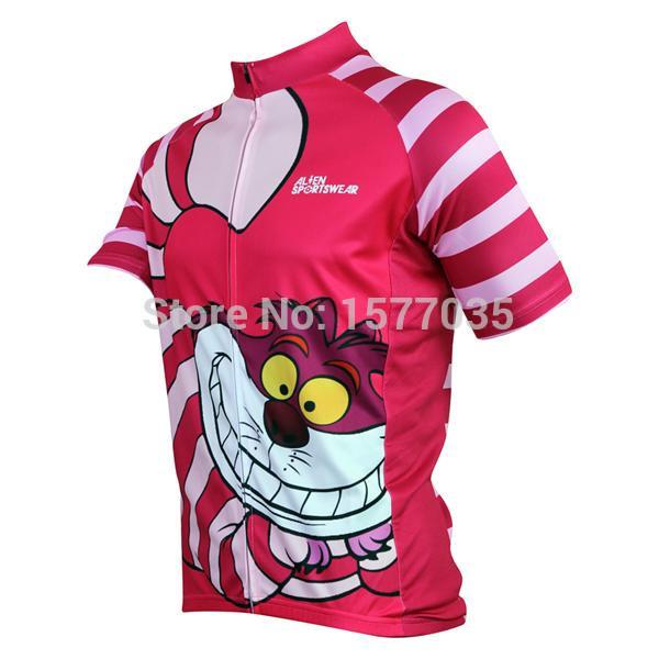 Cheshire Cat Gumby cartoon Hello kitty short sleeve zuhe