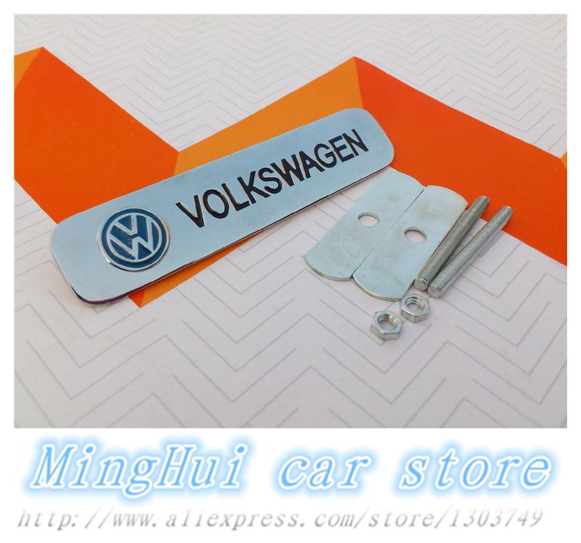 Наклейки MingHui 3D Volkswagen VW polo tiguan cc passat 6 авто и мото аксессуары jiangke 6pcs audi q5 a4l a6l c7 a7 vw volkswagen tiguan cc passat b7
