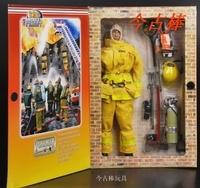 2015 urban fireman puppets fireman Vinyl Doll  fire department  firefighter accessories model fireman Action Figure Toy Gift