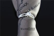 2015 Brand New Arrival Rhinestones Marriage Crystal Jewelry Bijoux Women s Swiss Diamond Engagement Ring Female