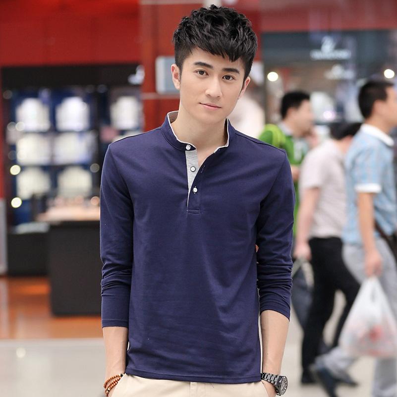 Men's fashion design polo casual cool tees tennis golf sportwear slacks camiseta camisas polos vestiti online(China (Mainland))