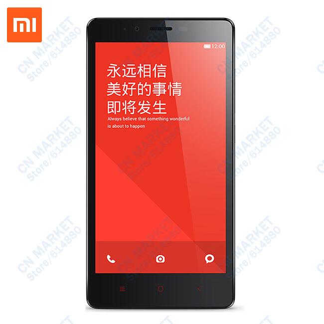 Original Redmi Note Hongmi Note GSM/WCDMA IPS 5.5 Snapdragon 1.6G Quad Core Android Phone 1G RAM 13MP Dual SIM Multi Lan MIUI(China (Mainland))