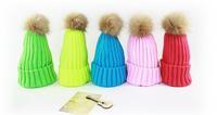 10pcs/Lot 2015 Cute Winter Knitted Pom-pom Skull Beanies Caps Blank Knit Beanie Cap For Men & Women Mens Knitting Skullies Hats