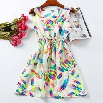Лето женщины платье Vestido де феста цветок печать чешские пляж свободного покроя Roupas Femininas Desigual одежда ну вечеринку платье свадебные платья
