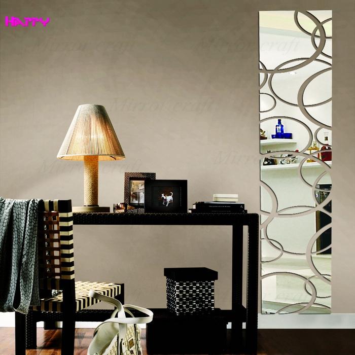 Wall decor mirror sets
