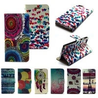 Capa For Apple iPhone 6 Cute Cartoon Wallet Leather With Card Holder Stand Case For iPhone 6 Case 4.7 Flip Cover Phone Cases