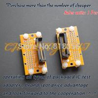 SSOP8-SSOP86 test socket   Pitch=0.5mm   SSOP IC TEST SOCKET Width can be adjusted freely without restriction