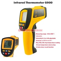 2015 Limited Special Offer Freeshipping Precise Non-contact Digital Ir Infrared Thermometer -50 To 900 Degree Laser Gun Gm900