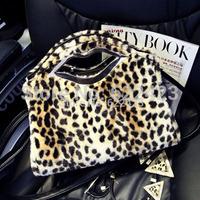 Fashion 2015 Women's Portable Leopard Print Bag Shoulder bag