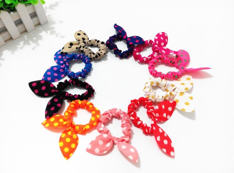 Women Rabbit Cat Ears Headbands Jewelry Girls Hair Accessories Hairstyle Braider Hairbands Hair Bow Hair Tie Hair Rope Hair Ring(China (Mainland))