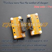 SSOP8-SSOP66 test socket SSOP ic socket  Pitch=0.65mm  Width can be adjusted freely without restriction