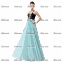 Factory Direct Sales Royal Blue One Shoulder Evening Dresses Full Regular Scoop Mother Of The Bride Dresses EP007 Size US 2-26w
