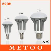 High Quality E14 E27 2835 SMD AC85-265V 3W 5W 7W LED Light Bulb Lamps Spotlight Wall Ceiling Downlight Chandelier