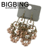 BigBing Fashion Latest design Bohemia Earrings Tassel Earrings fashion jewelry nickel free Free shipping! S914