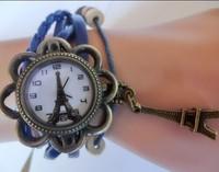 Fashion Han edition men's and women's sports fashion bracelet watch tower watch wholesale women's rhinestone Dress Watches