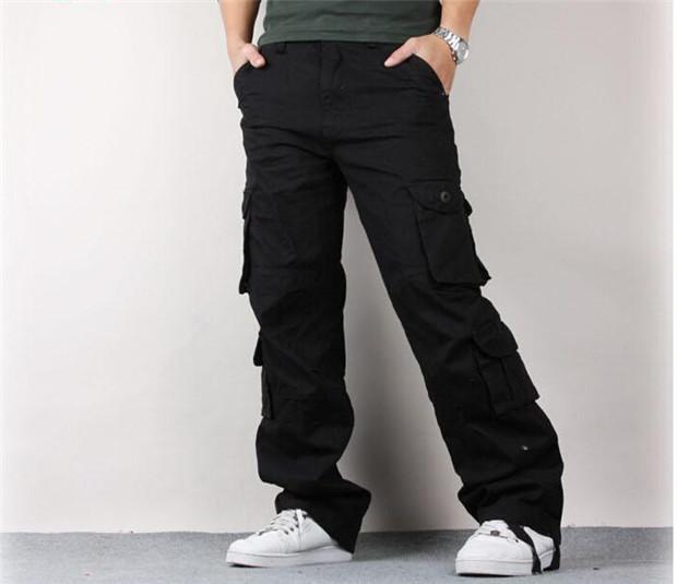 Baggy Khaki Cargo Pants For Men Cargo Pants Outdoors Baggy