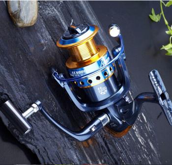 Прикорм рыболовства как подарок! высокое качество 2015 бренд рыболовная катушка 11BB ...
