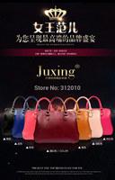 2015 women messenger bag handbag fashion PU leather bag portable inclined shoulder bag one shoulder bag apply women