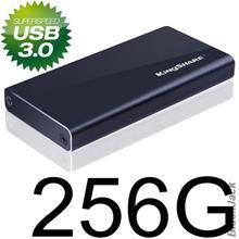 Original Kingshare External  SSD 256GB Max read 290MB/S Write 150MB/S with MLC NAND Chip USB3.0 flash drive/hard drive/Laptop(China (Mainland))