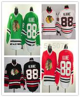 Free Shipping Chicago Blackhawks #88 Patrick Kane green ICE Hockey Jerseys,2015 New Style Men's Jersey,Embroidery logo