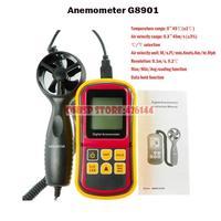 2015 Anemomet Real Tacometro Digital Tachometer Rpm Anemometro Anemometer Wind Gm8901 Level Display Multifunction Measurement