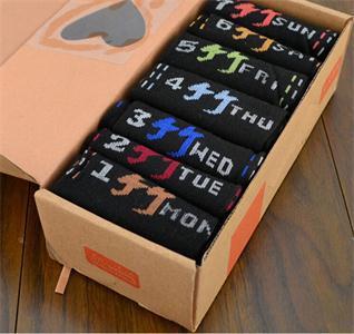 Brand men Athletic Shoes Socks Men s Cotton Sport Socks 7days Week Socks Summer Daily
