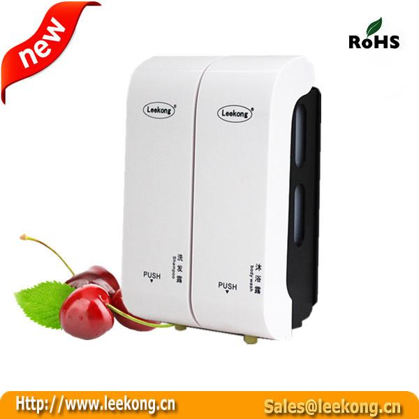 350*2ml top grade hotel shiny surface liquid soap dispensers(China (Mainland))