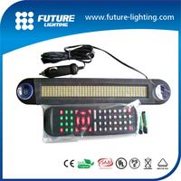 Hot sale shenzhen indoor use led car display 12v led scrolling message mini display