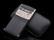 High Quality Luxury Signature Touch PVD Black Mobile Phones Calfskin Leather, Titanium,Android 4.4 Luxury signature Smartphones