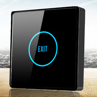Quality touch Key out switch access control button general 86 induction luminous push button ztron x6