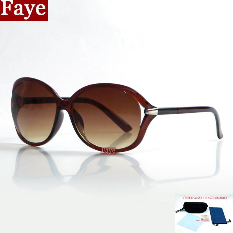 FAYE with case women fashion demonstrate individuality sunglasses driving cycling best choice sun glasses oculos feminino B166(China (Mainland))